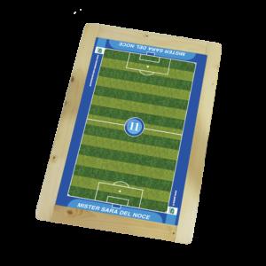 Lavagnetta Magnetica e Scrivibile Calcio a 11