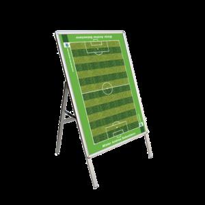 Lavagna Cavalletto Calcio a 11 Scrivibile