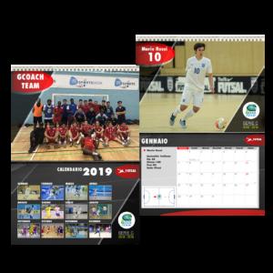 Kit 12 calendari 2020 squadre personalizzati