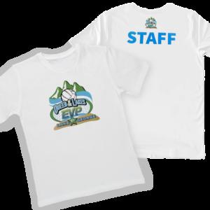 Tshirt cotone bianco con personalizzazione