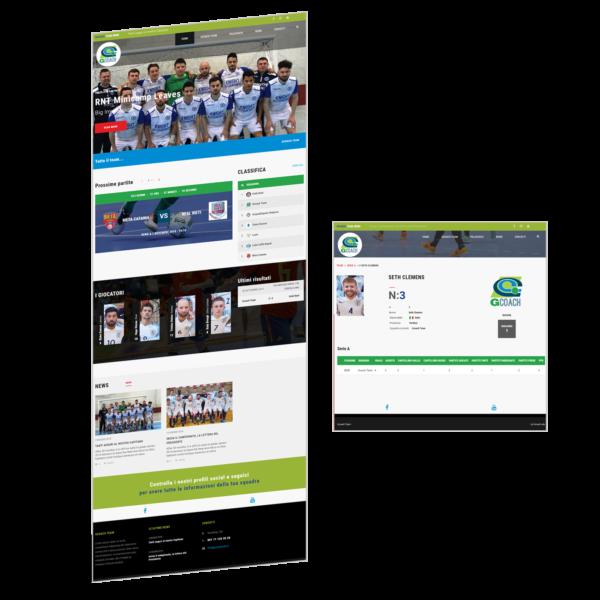 Lavagnette Sportive - Gcoach - Sito web